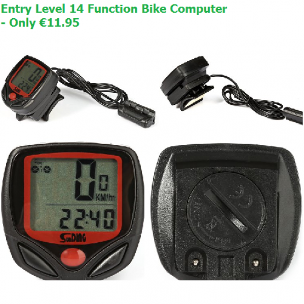 Entry level Multifunctional Bicycle Computer