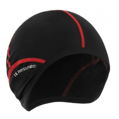 Scull Cap - Black / Red