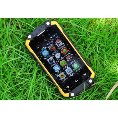 Nano Mini Tough Phone - Android 4.2.2 OS, Rear Camera, Water Resistant with Bluetooth